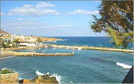 Panormo: Blick über die Bucht